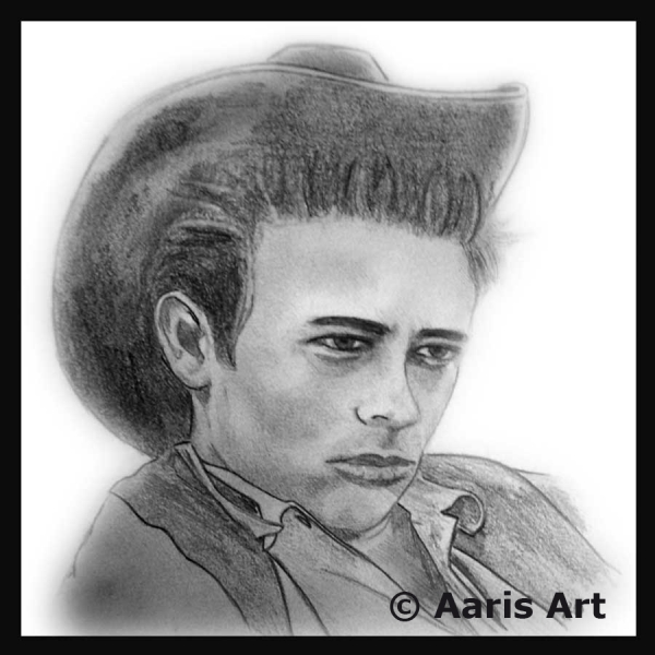 James Dean by AarisArt